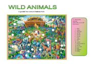 English Worksheet: Wild animals - A guided tour around Badoka Park