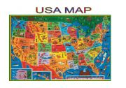 English Worksheet: Maps-USA map