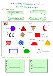 English Worksheet: Vocabulary game 2
