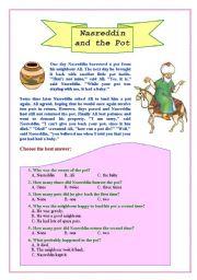 Nasreddin and the pot