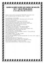English Worksheets: TABAJARA ENGLISH