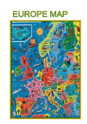 English Worksheet: Maps-Europe map