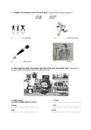 English Worksheets: General revision