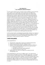 English Worksheets: Robotics Assignment
