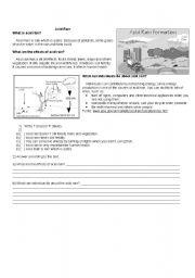 Worksheets Acid Rain Worksheet english teaching worksheets the rain acid rain