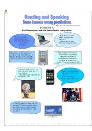 English Worksheet: Wrong Predictions