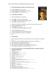 english teaching worksheets david copperfield english worksheets david copperfield