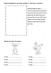 English Worksheets: The body2