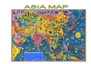 English Worksheets: Map of Asia