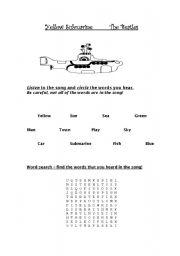 Yellow Submarine - Primary Level Listening Exercise