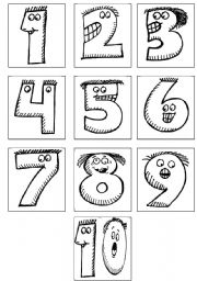 English Worksheets The Numbers Worksheets Page 47
