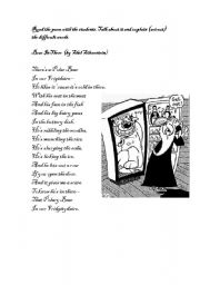 English Worksheets: Bear in there by Shel Silverstein
