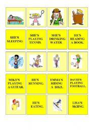 English Worksheets: memory - actions