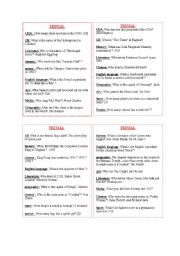 English Worksheets: Let�s play !
