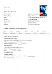 English Worksheets: Movie: Next