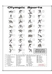 Pictogram Olympic Sports