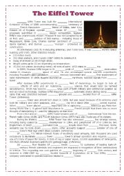 the eiffel tower another articles exercises. Black Bedroom Furniture Sets. Home Design Ideas