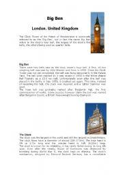 English Worksheets: big bin