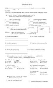English Worksheets: Do you...? Are you ...?