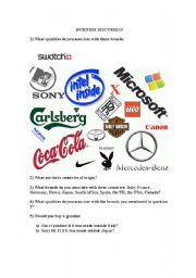 English Worksheets: Business - Talking about Brands