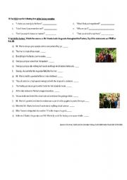 English Worksheet: Charlie and the Chocolate Factory- part 2