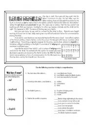 English Worksheets: Louis Braille