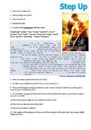 English Worksheets: Step up