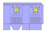 English Worksheet: Twinkle Twinkle Little Star