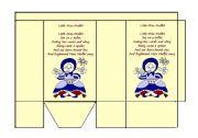 English Worksheets: Little Miss Muffet