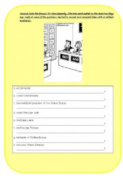 English Worksheet: subject object questions