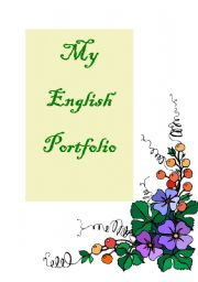 English Worksheet: set of ideas  for your student`s portfolio