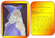 English Worksheet: Harry Potter�s characters flashcards (pictures and profiles) - part 2 / 5