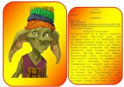 English Worksheets: Harry Potter�s characters flashcards (pictures and profiles) - part 5 / 5