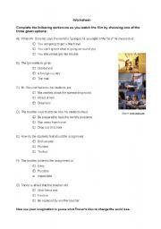 English Worksheets: Film Quiz_Pay It Forward