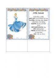 English Worksheets: Presenting Disney princesses