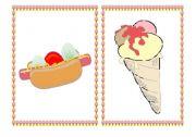 English Worksheet: Junk Food - flashcards - part II
