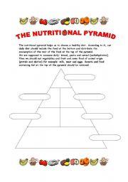 food pyramid worksheet for high school behr john biology chapter 1387 free esl healthy. Black Bedroom Furniture Sets. Home Design Ideas