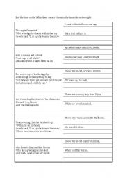 English Worksheet: Limericks Jigsaw