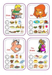 English Worksheets: Food Cards (Part 2 out of 5)