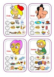 English Worksheets: Food Cards (Part 3 out of 5)