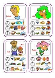 English Worksheets: Food Cards (Part 4 out of 5)