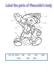 Pinocchio Pdf English