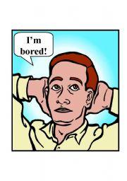 English Worksheet: Flash cards: Feelings - part II