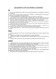 English Worksheets: fce tips 2