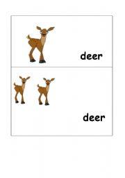 Plural of deer