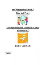 English Worksheets: Assignment on the UN