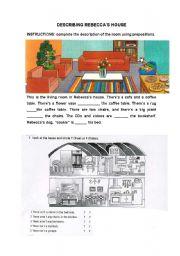 DESCRIBING REBECCA´S HOUSE