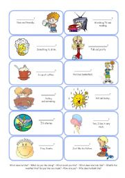 English Worksheets: Cards - Questions with LIKE