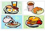 Breakfast flash-cards