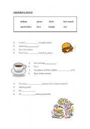 Ordering food esl worksheet by monicaor english worksheet ordering food ibookread Download